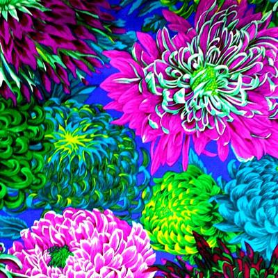KF Collective - Japanese Chrysanthemum Green