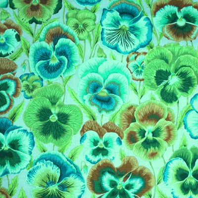 KF Collective - Pansies Green