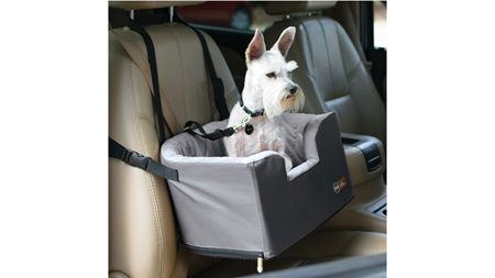 K&H Bucket Booster Seat Toy Breed - Grey