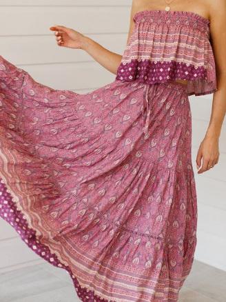 Khali Maxi Skirt