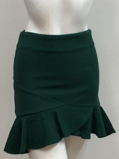 Khloe Skirt - Emerald Green