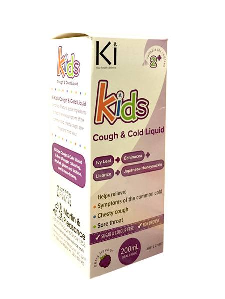 Ki Cough & Cold Liq Kids 200ml