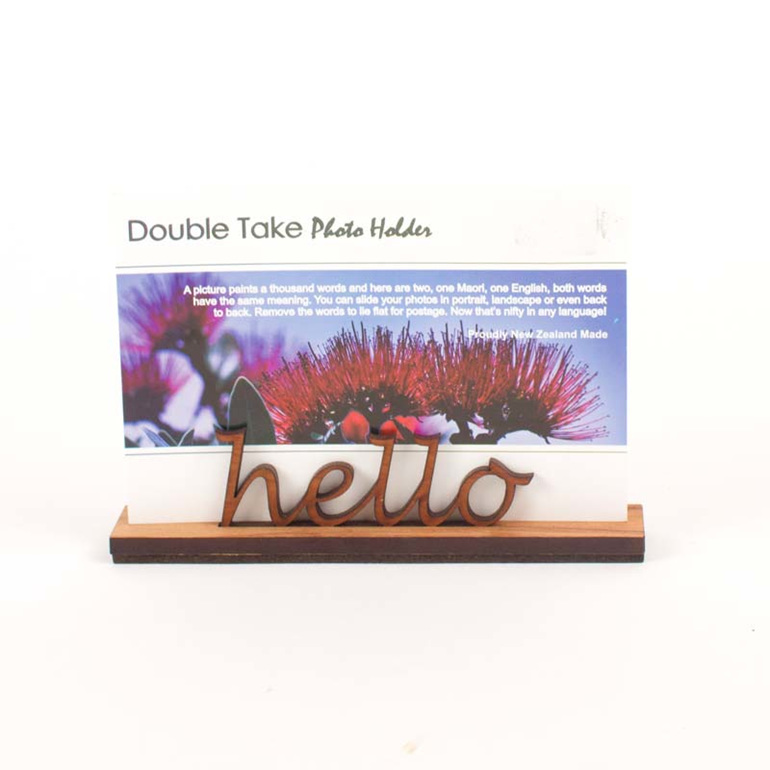 kiaora hello photo holder