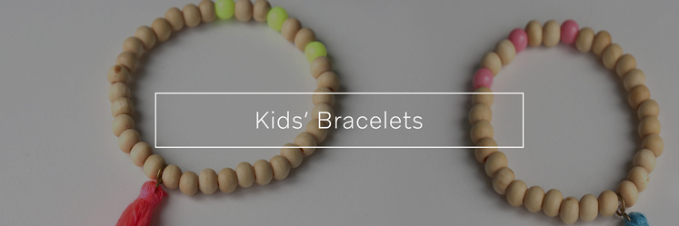 Kids' Bracelets, designed and made in New Zealand.