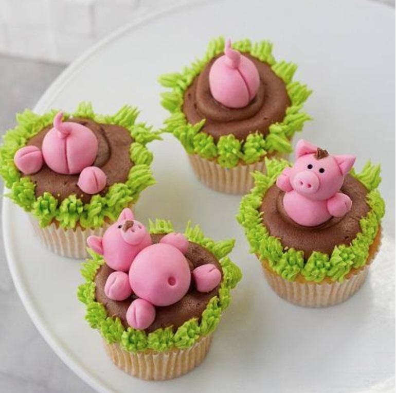 Kids Cupcake Class  -Fondant/Buttercream