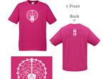 Kids Dark Pink T-Shirt