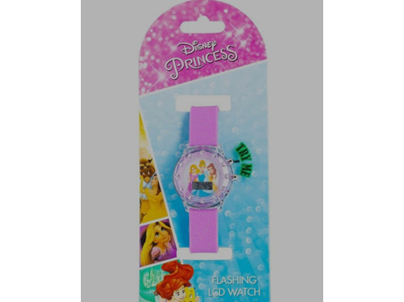 Kids Flashing Digital Watches Disney Princesses