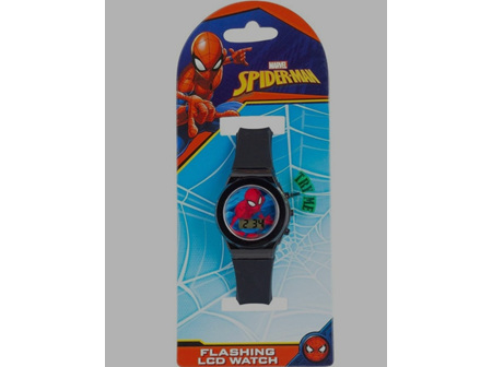 Kids Flashing Digital Watches Spiderman