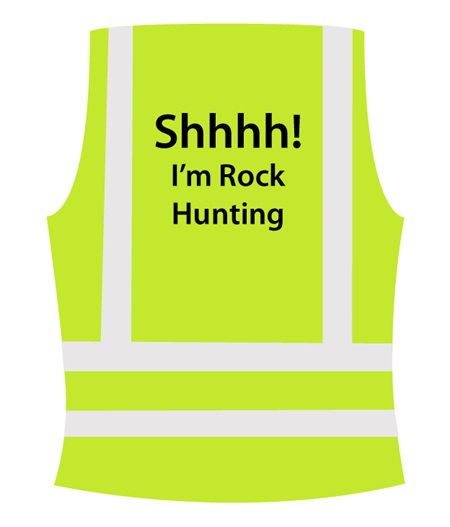 Kids Fluro Rock Hunting Vest