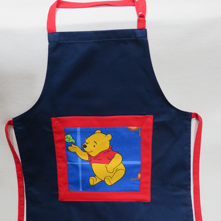 Kids Full Apron with Pooh
