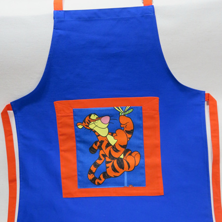 Kids Full Apron with Tigger