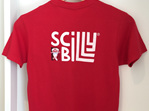 Kid's Scilly Ass Tee - Red