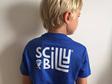 Kids' Scilly Billy Tee - Blue