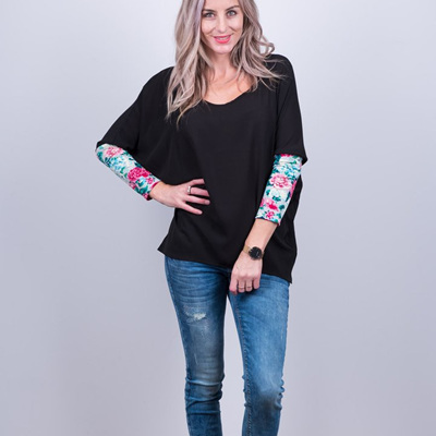 Kiera Top - Black