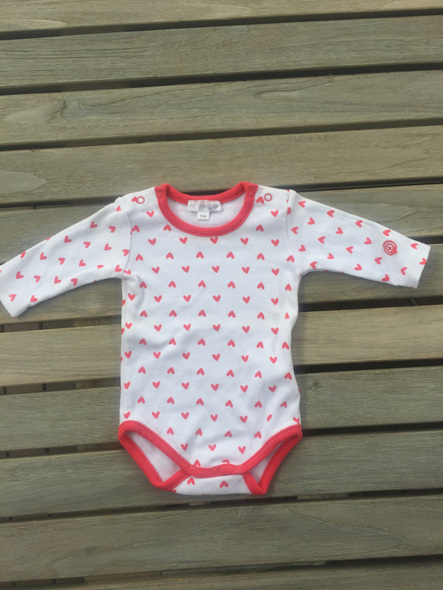 Kimbaloo long sleved onesie