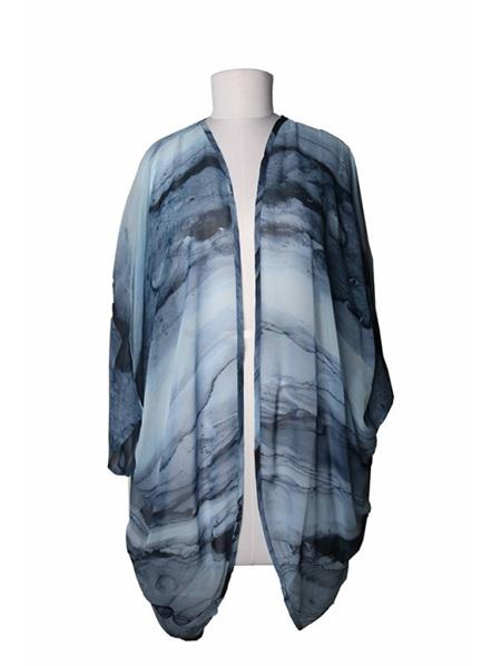 Kimono - Blue Marble