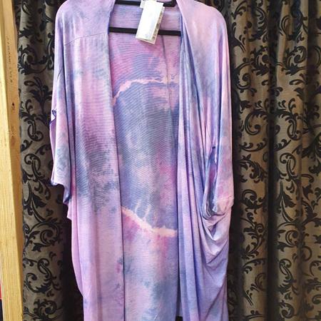 Kimono Cardi - pinky purples