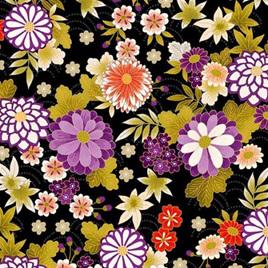 Kimono - Chrysanthemums -93140-101