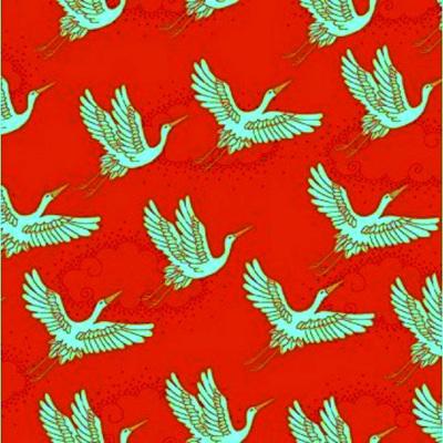Kimono - Cranes