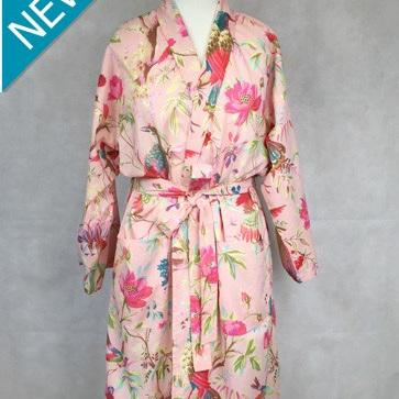 Kimono Dressing Gown - Rose