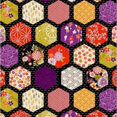 Kimono - Hexagon Patch