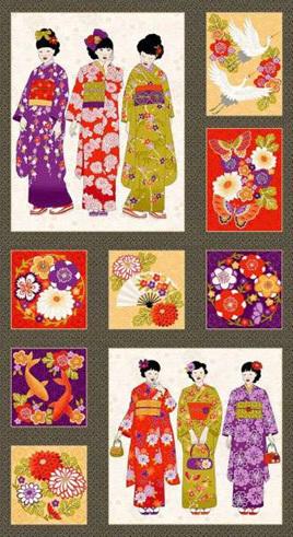 Kimono Panel 2051