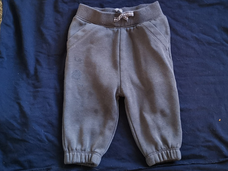 KINDY COND Drak Grey Fleece pants