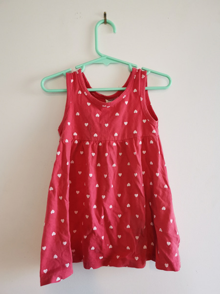 KINDY COND Pink Heart Dress