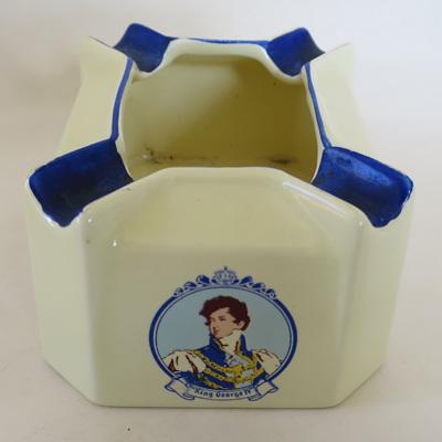 King George IV ashtray