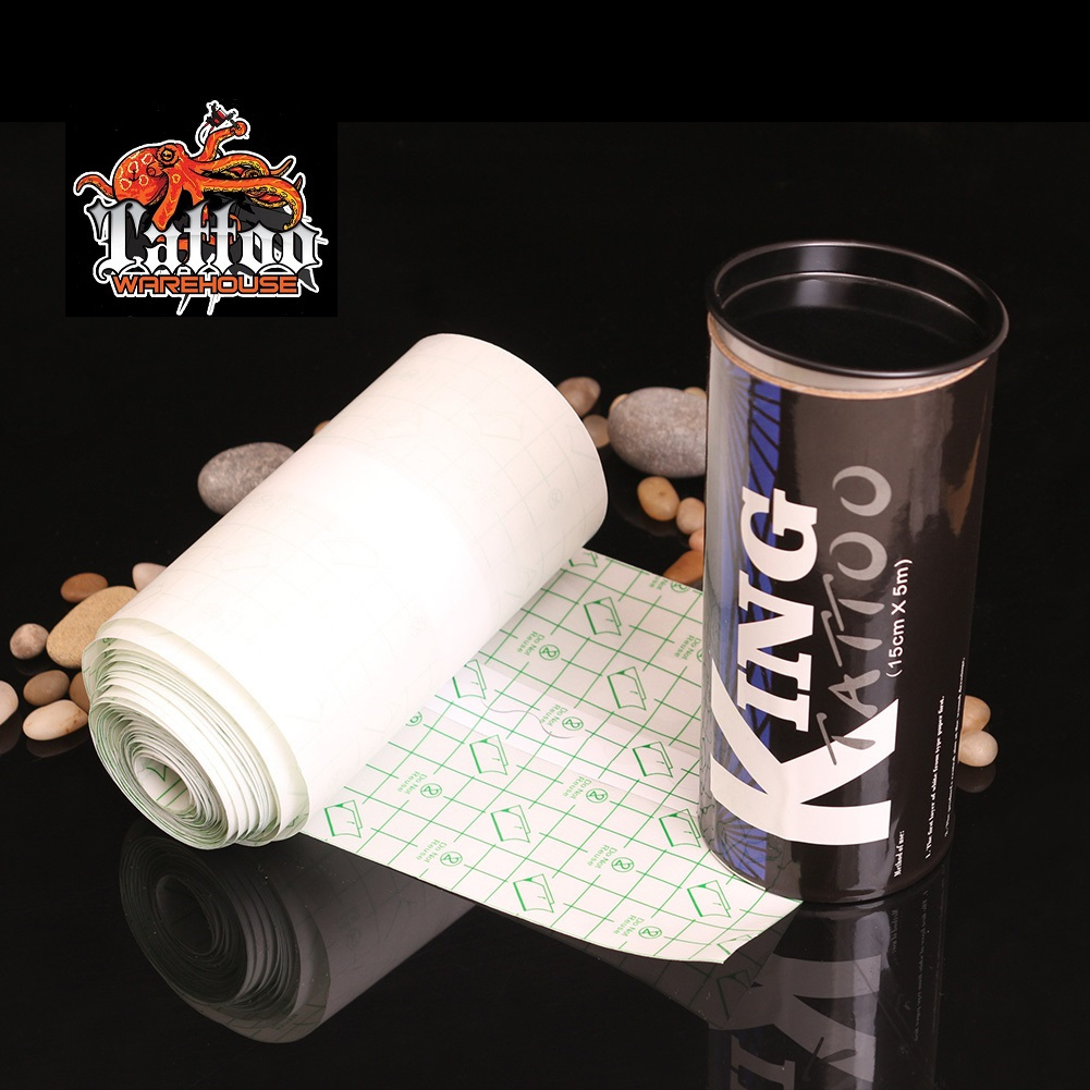 King Tattoo Aftercare Film Roll 15cm X 5m Tattoo Warehouse Ltd
