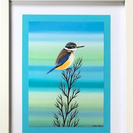 "Kingfisher - 8 x 10"" Frame"