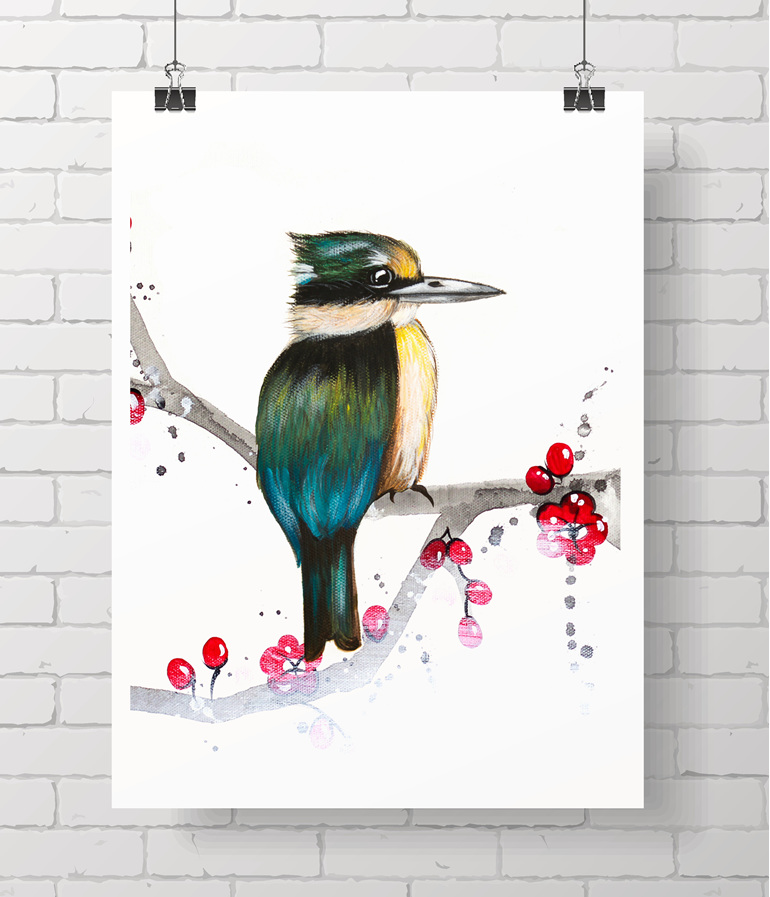 kingfisher blossom
