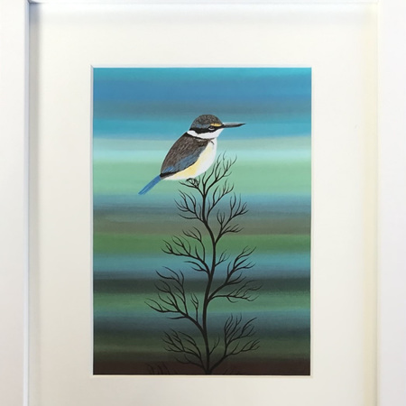 Kingfisher - medium frame