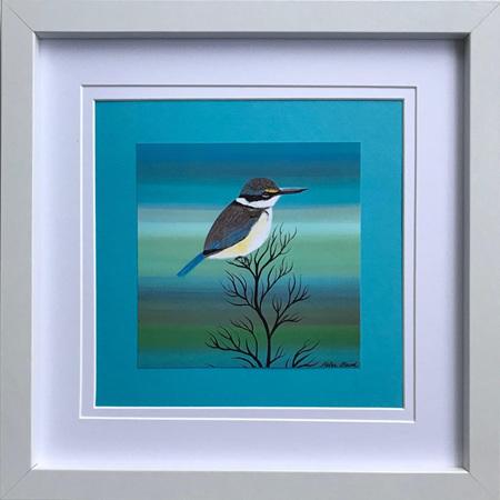 Kingfisher - Square Frame