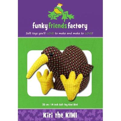 Kiri the Kiwi pattern