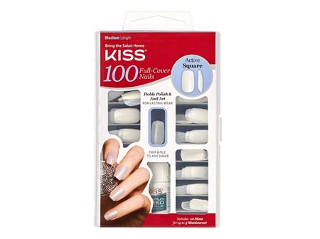 KISS 100 Nail Active Square
