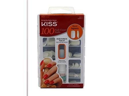 KISS 100 Nail Short Square Full