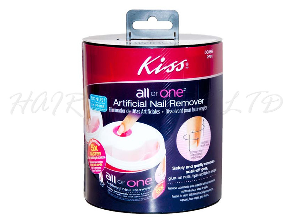 Kiss All or One Artificial Nail Remover Kit - Hair and More