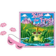 Kiss the frog party game