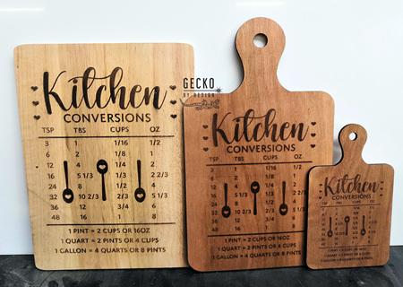 Kitchen Conversion Board