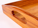 kitchen tray heart rimu handle detail