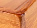 Kitchen tray - join detail - heart rimu