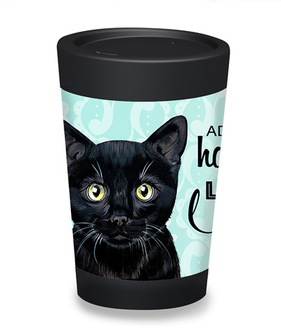 kitty cup - large