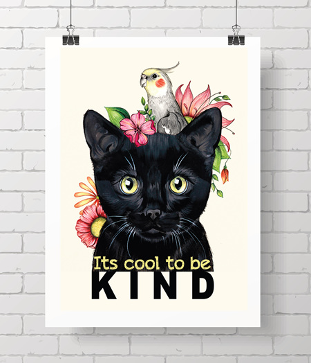 Kitty - it's cool to be kind
