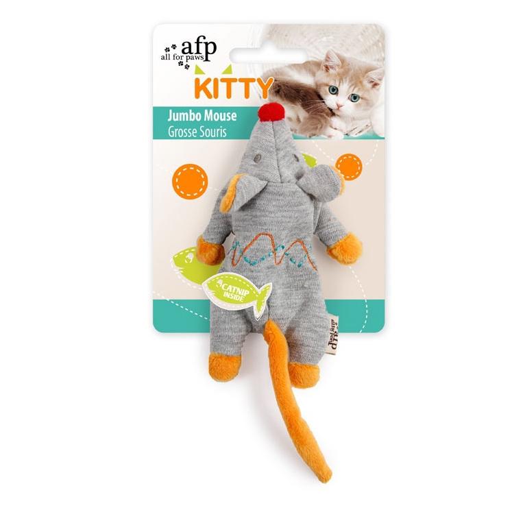 Kitty Jumbo Mouse Grey