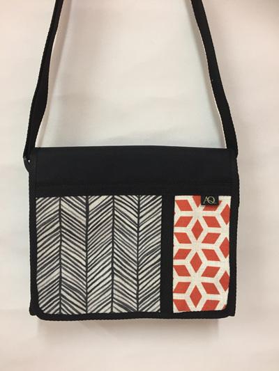 Kiwa satchel - geometric combo