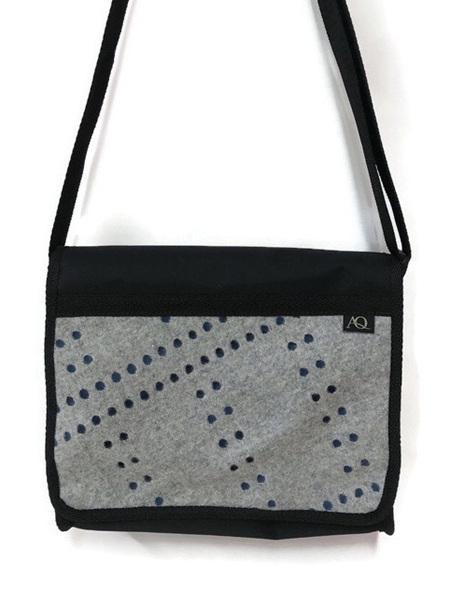 Kiwa satchel - wool combo
