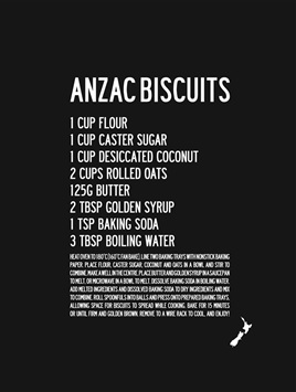 KIWI ANZAC BISCUITS
