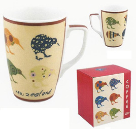 Kiwi Applique Coffee Mug