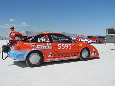 Kiwi claims world record at Bonneville